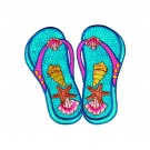 Flip Flops Free Embroidery Designs