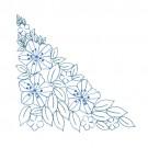 Floral Corner Quilt Pattern