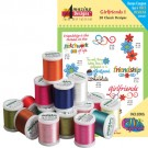 GirlfriendsI with 18 Spool Madeira Thread Kit