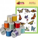 Butterflies I With Madeira 18-Spool Thread Kit