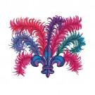 Fleur De Lis and Feathers