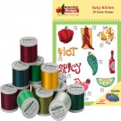Spicy Kitchen with Madeira 18-Spool Thread Kit