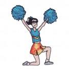 Kneeling Cheerleader