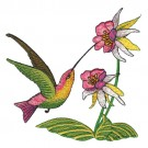 Hummingbirds and Flowers Collection