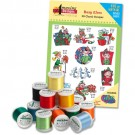 Busy Elves with Madeira 18-Spool Kit