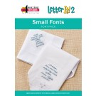 Small Fonts Font Pack for Letter It 2 (Download)