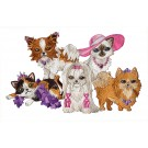 Furry Fashionistas Embroidery Design Collection