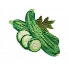 Zucchini Embroidery Design
