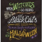 Near Halloween Embroidery Design