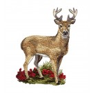 Buck North Woods Autumn Embroidery Design