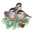 Chickadee Symphony Embroidery Designs