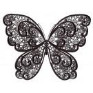 Butterfly 2 Zen Garden Sketch Embroidery Design