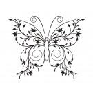 Butterfly 15 Zen Garden Sketch Embroidery Design