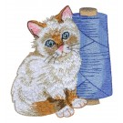 Piece, Love, Kittens Embroidery Designs