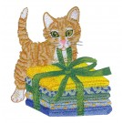 Bundle Kitty  Embroidery Design