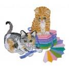 Dresden Kittens Embroidery Design