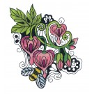 Blooming Doodles Embroidery Design 1