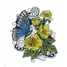 Blooming Doodles Embroidery Design 2