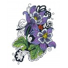 Blooming Doodles Embroidery Design 3