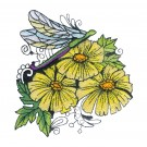 Blooming Doodles Embroidery Design 14