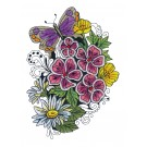 Blooming Doodles Embroidery Design 16