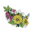Blooming Doodles Embroidery Design 25