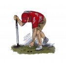 Game Day Golf Embroidery Design 10