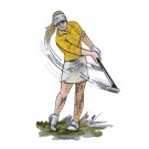 Game Day Golf Embroidery Design 12