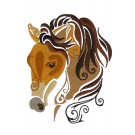 SWNWH201 Mustang Mystique Embroidery Design