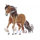 SWNWH205 Mustang Mystique Embroidery Design