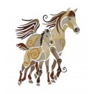 SWNWH211 Mustang Mystique Embroidery Design