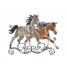 SWNWH214 Mustang Mystique Embroidery Design