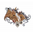 SWNWH220 Mustang Mystique Embroidery Design