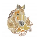 SWNWH223 Mustang Mystique Embroidery Design