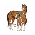 SWNWH224 Mustang Mystique Embroidery Design