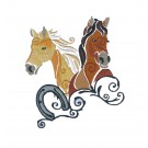 SWNWH227 Mustang Mystique Embroidery Design