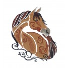 SWNWH229 Mustang Mystique Embroidery Design
