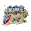 Seaside Escapes Embroidery Design Collection