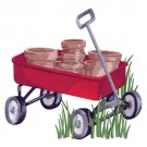 Wagon Of Pots