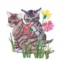 Kittens In Flowers