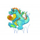 Dragon With Lollipop