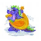 Dragon Drying Off