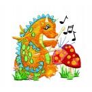 Drumming Dragon