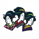 Asian Women Applique