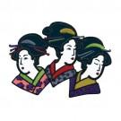 Asian Women Applique