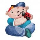 Baby Boy with Ladybug