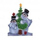 Snowmen with Tree
