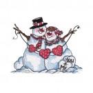 Happy Snow Couple