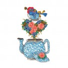 Blue Bird in Teapot