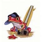 Frog on Beach